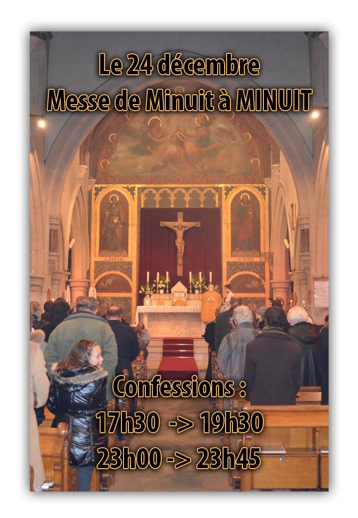 Messe de minuit 2014
