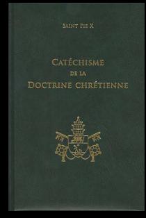 photo du livre de catéchisme de Saint Pie X
