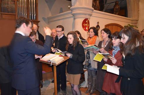 Chorale de l'église Saint-Louis