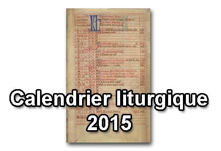 image du calendrier liturgique