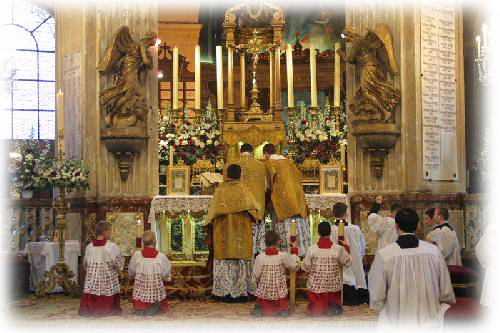 photo messe tridentine