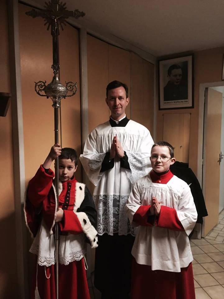 le service de messe
