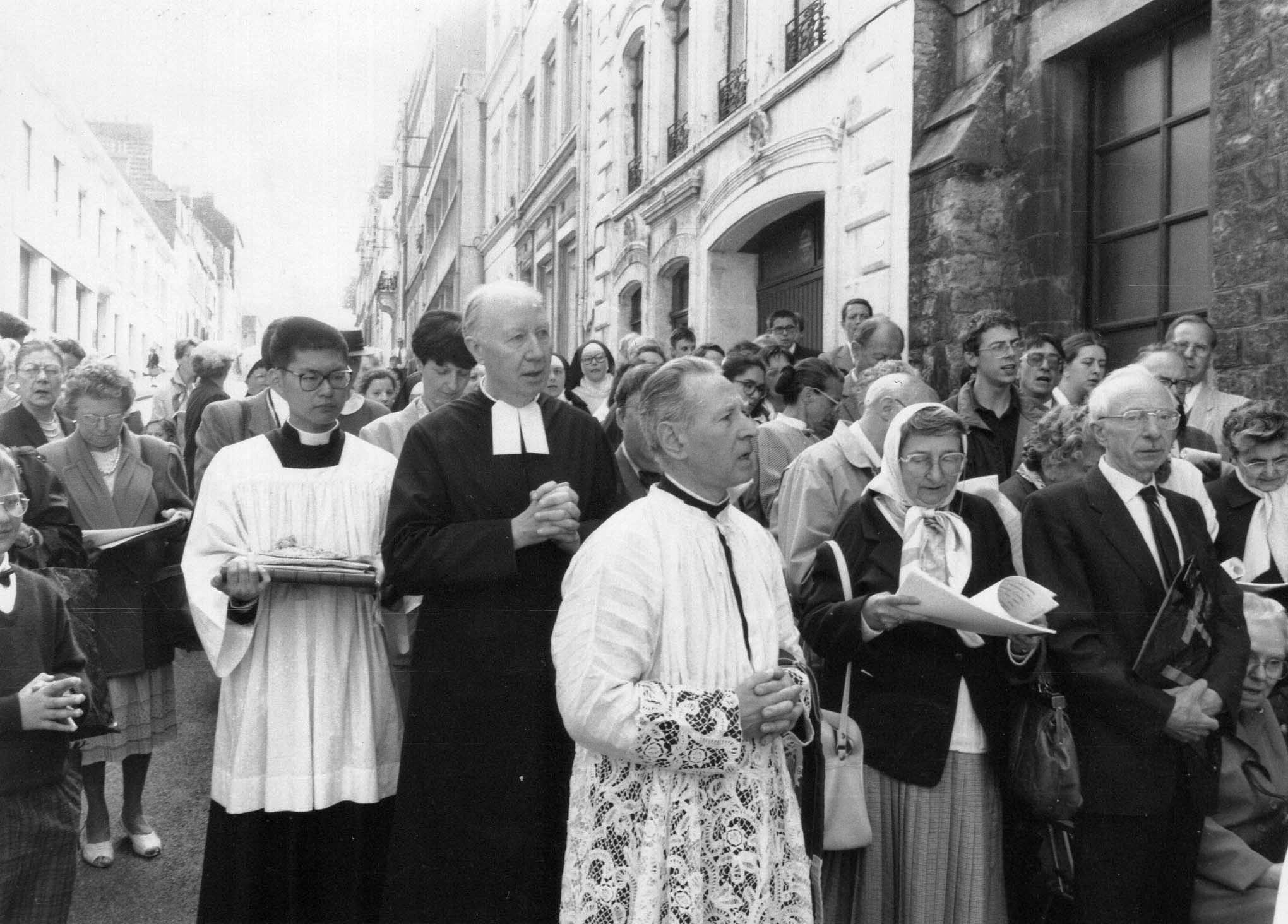 jour de la consécration de l église