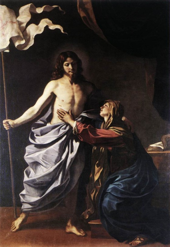 Guercino_The_Resurrected_Christ_Appears_to_the_Virgin-1-560x813