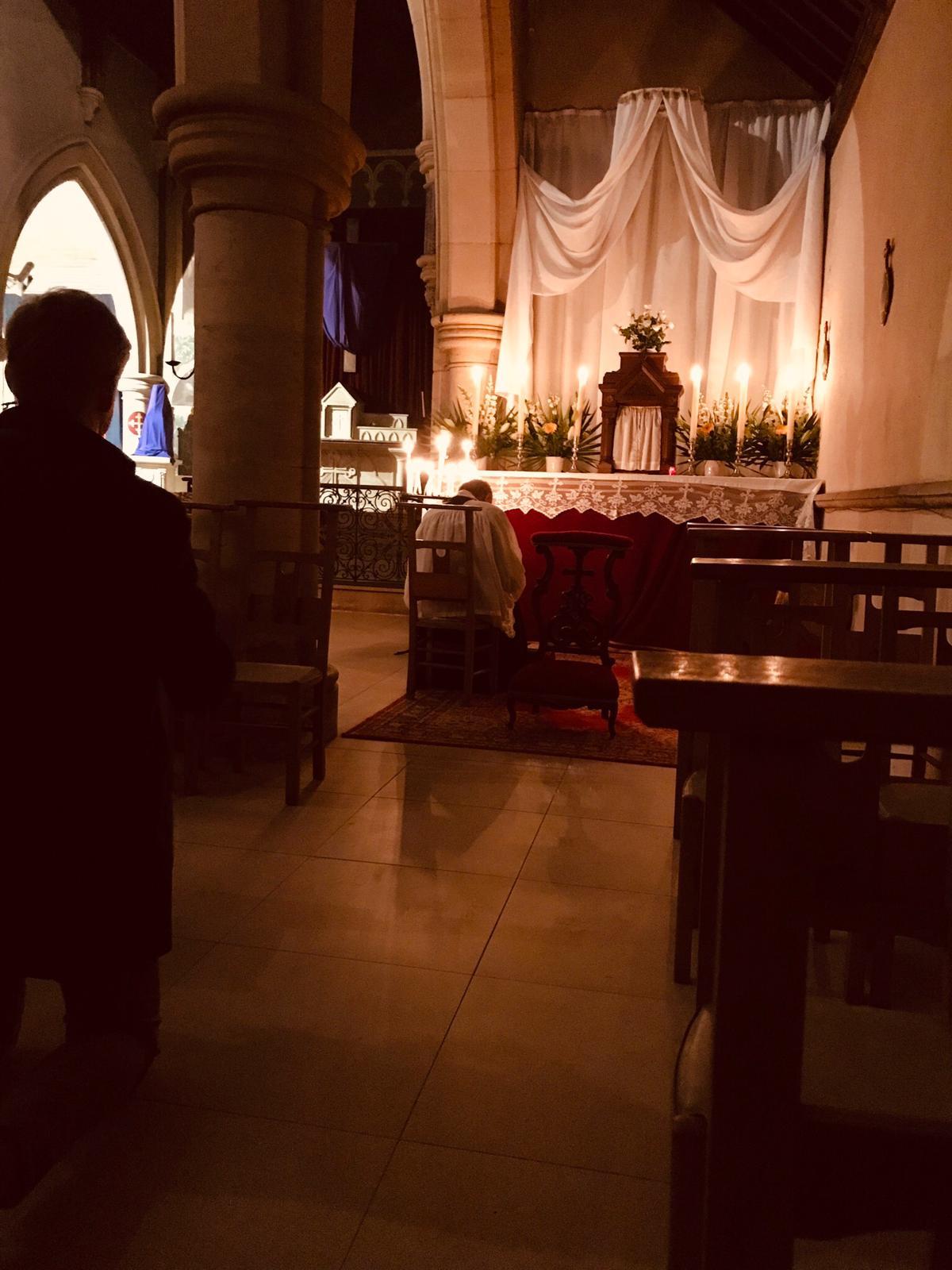 adoration au reposoir