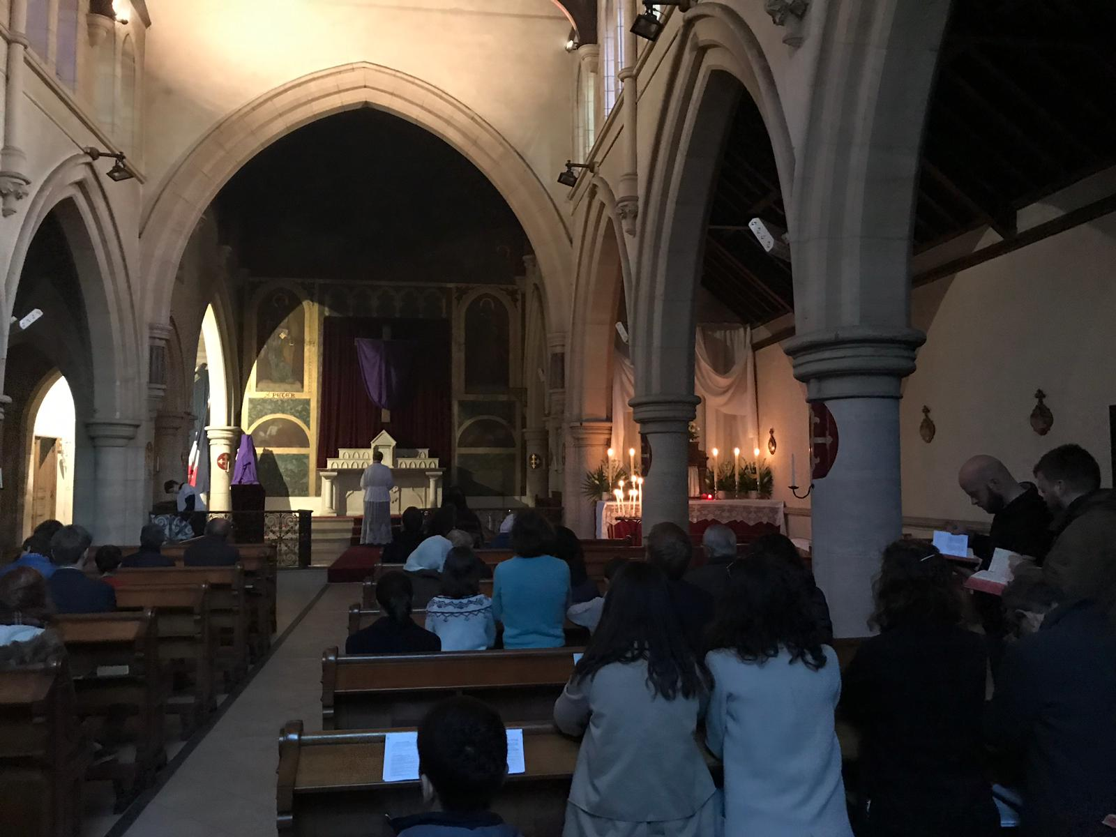 Dépouillement de l'autel (Après la messe, et la procession au reposoir)